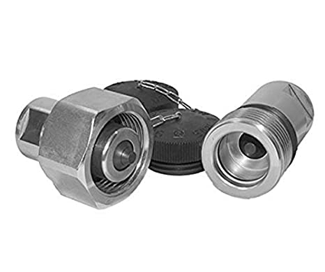 1 BSPP Thread 5000 Series 5075 PSI Max Working Pressure Holmbury 5006-1 Heavy Duty Screw Connect Coupler 2.3 ID 20300 PSI Burst Pressure Sleeve 1 1 BSPP Thread 2.3 ID Holmbury Inc