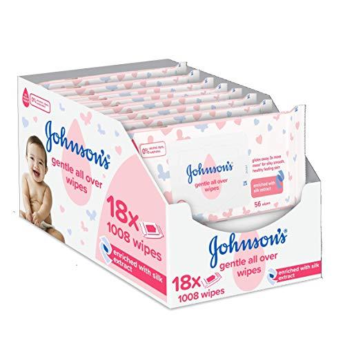 🥇 Johnson's Baby Toallitas suaves para todo tipo de bebés