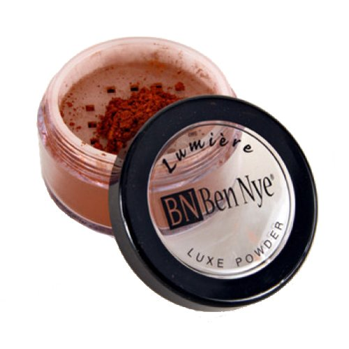 Ben Nye Lumiere Luxe Shimmer Powder - Golden Apricot LX-18 (0.21 (Luxe Shimmer)