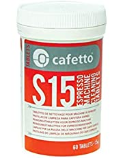 New CAFETTO S15 Espresso Machine Cleaning Tablets Coffee Clean Auto
