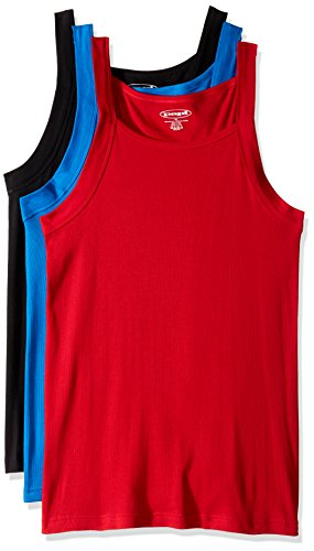 ee9fafb4df0805 Papi Men s 3-Pack Cotton Square Neck Tank Top - Fitness Magazine