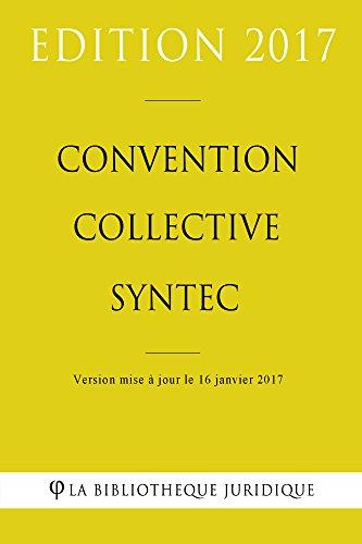 SYNTEC TÉLÉCHARGER COLLECTIVE GRATUITEMENT CONVENTION