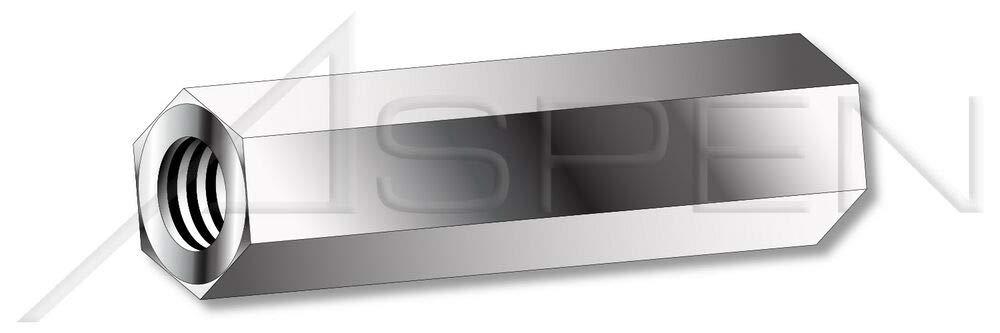 Hex Standoffs 5//16 Across Flats 100 pcs 6-32 x 1//2 303 Stainless Steel