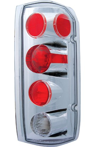 - IPCW CWT-CE501AC Crystal Eyes Crystal Clear Tail Lamp - Pair
