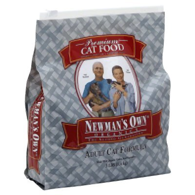 Newman's Own Organics Adult Healthy Cat Food, Organic 3 lb by Newman's Own