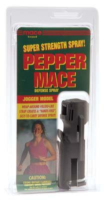 (Mace Brand Pepper Mace Defense Spray- Jogger Model)