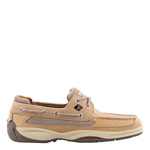- Sperry Top-Sider Lanyard 2-Eye Boat Shoe,Linen,10.5W US