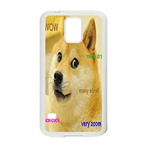 Doge Mousepad Rectangle Shape TPU Phone case cover for SamSung Galaxy S5 white