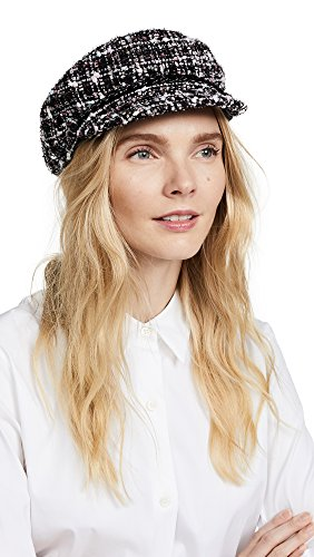 Eugenia Kim Women's Marina newsboy Cap, Black/Pastel, One Size by Eugenia Kim