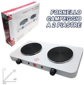CAMPING LA COCINA ELECTRICA 2 PLACAS Kooper 2000 W Remolques ...