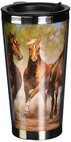 Lang 2118007 Taking Flight Designed Travel (Horse Travel Mugs)