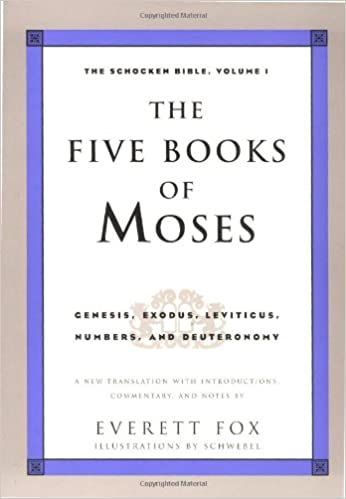 The Five Books of Moses: Genesis, Exodus, Leviticus, Numbers ...