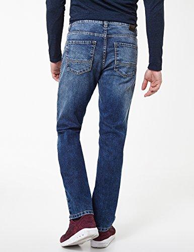 361 Rando Jeans Straight Uomo Used Buffies Blu With Pioneer stone zHqdFaHw