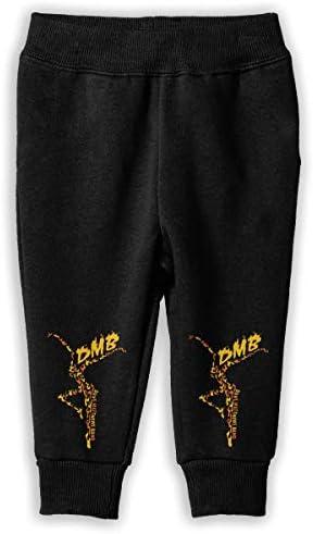 Dave Matthews Logo ロングパンツ スウェットパンツ 男の子 女の子 キッズ 普段着 通学 気楽 吸水速乾 伸縮性 通気 耐久性 春秋 肌触りよく 柔らかい 下着 入学式