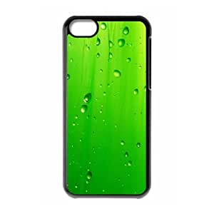XiFu*Meiiphone 6 plua 5.5 inch Case,Green Rain Drop Hard Shell Back Case for Black iphone 6 plua 5.5 inch Okaycosama372352XiFu*Mei