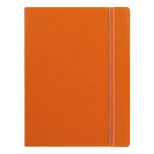 Filofax Notebook, A5 Size, 8.25 x 5.182 inches, Orange (B115010U)