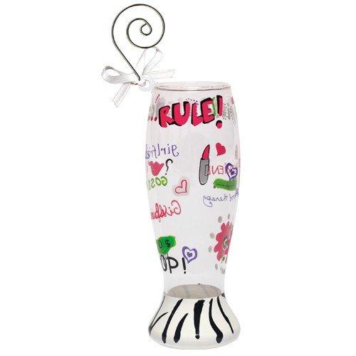 Santa Barbara Design Studio Lolita Holiday Mini-Pilsner Ornament, Girlfriends Rule -