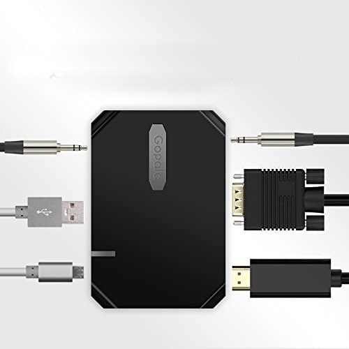 3 en 1 adaptador convertidor HDTV Compatible para proyector Full ...