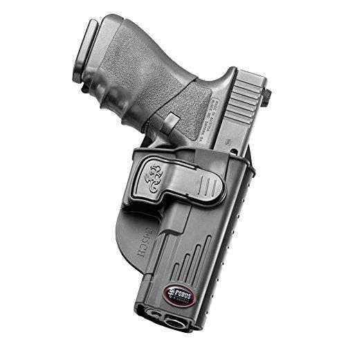 (Fobus Glock 20, 21 Roto-Belt Holster, Black, Left)