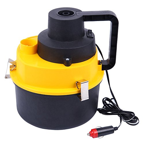 HH Limited Car Vacuum Cleaner Inflator 12V 60W Wet and Dry Portable Handheld Auto Vacuum Cleaner RV Camper Boat