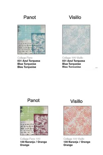 Colorintex   JVR   Tejidos y Visillos   Collage   Medidas: visillo