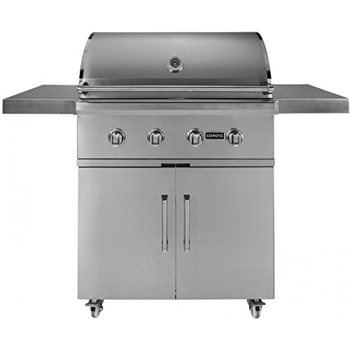 Coyote c series ccx4lp 36 inch 4 burner propane gas grill for Coyote outdoor grills reviews