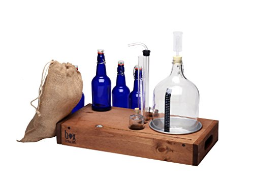 Handcrafted Small Batch Beer Making Home Brewing Kit by Box Brew Kits