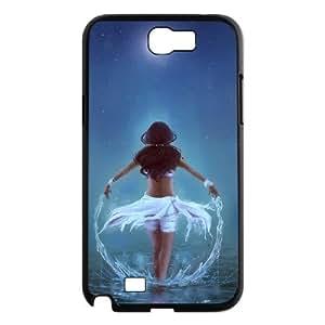 Dustin Katara Samsung Galaxy Note 2 Cases, [Black]