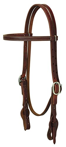 Weaver Browband Bridle - Weaver Leather Working Tack Quick Change Browband Headstall