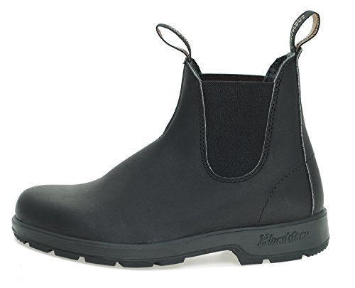 Blundstone Style 510 Classic Comfort Chelsea Boots Unisex Stiefelette + 250 ml Lederpflege | Black Schwarz (Black)