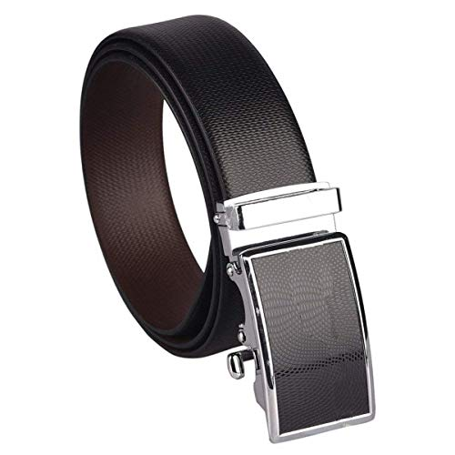 Coovs Men's Leather Reversible Belt