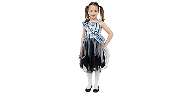 Amazon.com: Bristol Novelty Bloody Prom Queen Costume (L) Childs Age 7 - 9 Years: Toys & Games