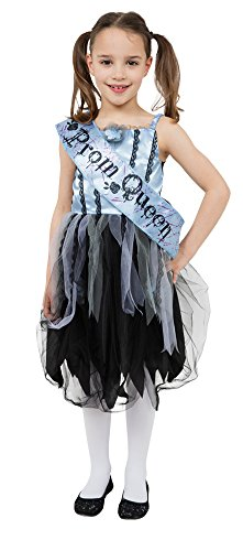 Bristol Novelty Bloody Prom Queen Costume (L) Childs Age 7 - 9 Years -