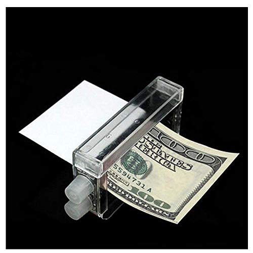 Ourhomer  Clearance Sale 1 Pcs Money Printing Machine Money Maker Easy Magic Trick Toys Magician Props (Clear)