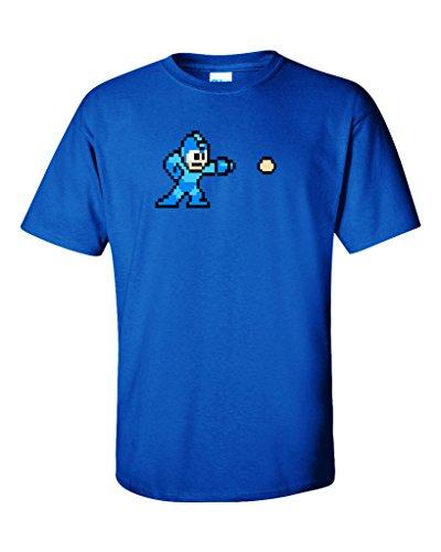 KING THREADS Megaman Shooter T-Shirt Adult Large