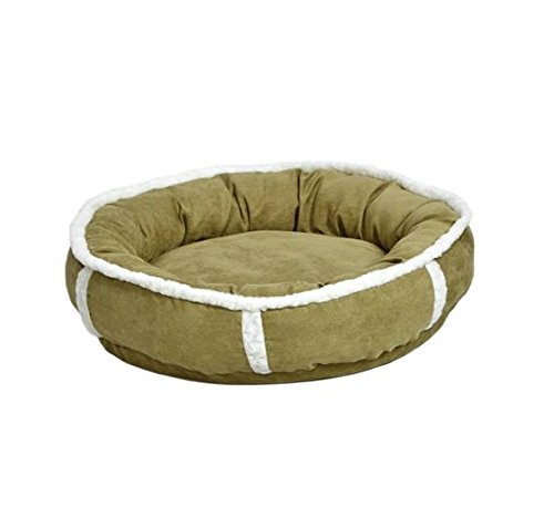 MidWest Homes for Pets Quiet Time Deluxe Rondelle Pet Bed Pink