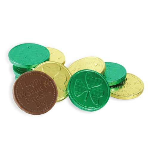 Price comparison product image St. Patrick's Day Lucky Chocolate Coins