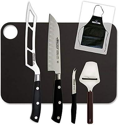 Juego de Cuchillos para Queso Pro Arcos Riviera Bricolemar: Amazon.es: Hogar
