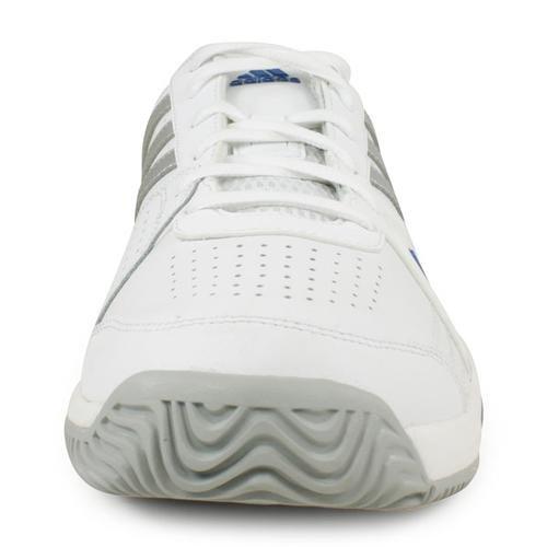 Men`s Bercuda 3 Tennis Shoes White and Silver
