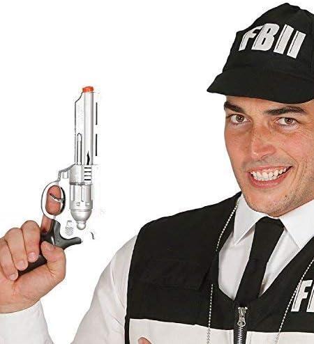 Fancy Me Mujer Hombre Infantil Juguete para Niños Plata FBI ...