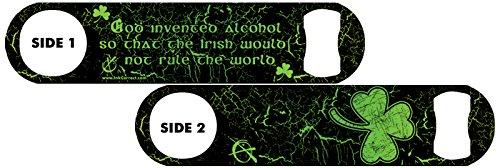 Killer Inked Bottle Opener: Irish Pride - Neon Green