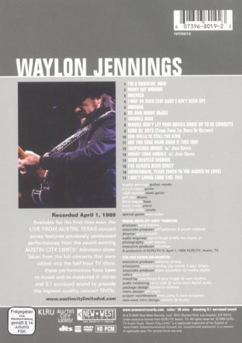Waylon Jennings  - Live from Austin, TX by New West