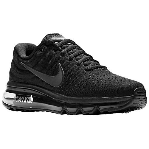 Nike Big Kids Air Max 2017 (GS) Running Shoe BlackBlack Black (6Y)