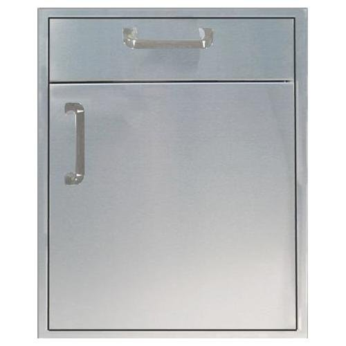 260 Series 21 Inch Single Door with 4 Inch Inch Drawer (4