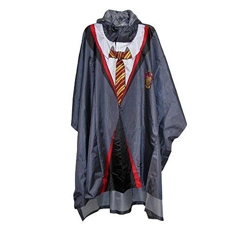 [Harry Potter Gryffindor House Robe Rain Pancho] (Hogwarts Robes Gryffindor)