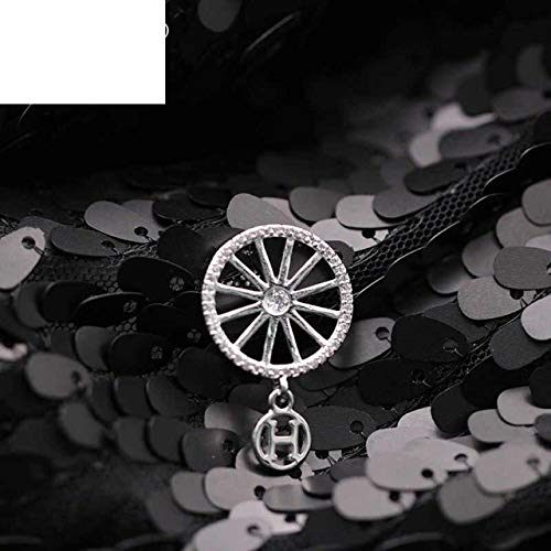 Pinwheel Brooch Pin - New Arrivals Fashion Letter H Hanging True White Gold Brooches Brooch Pin Badge Emblem Corsage Cute Pinwheel Natural Zircon Luxury Jewelry for Women Girl