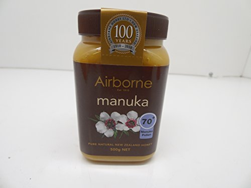 Airborne Zealand Manuka Honey 500g product image