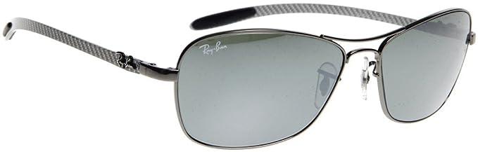 dffaf09a286 Ray Ban RB8302 Tech Sunglasses-004 40 Gunmetal (Crystal Gray Mirror Lens)