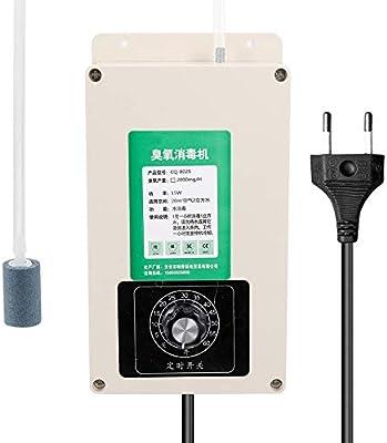 QWERTOUY Filtro de Aire generador de ozono desinfección esterilización del ozono Ozonizador multifunción Inicio Agua ...