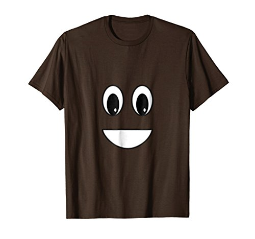 Funny Poop Emoticon Halloween Costume Graphic T-Shirt]()